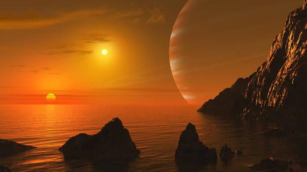 Sunrise of Alpha Centauri