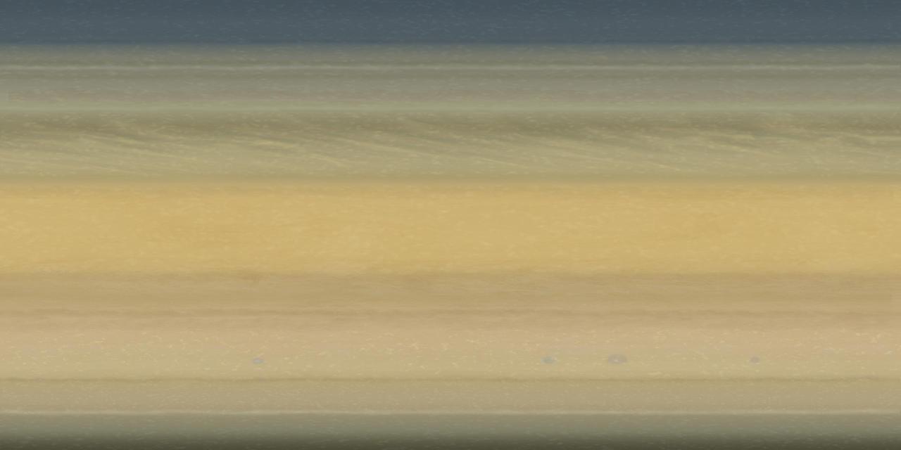 Saturn Texture Map - 0425