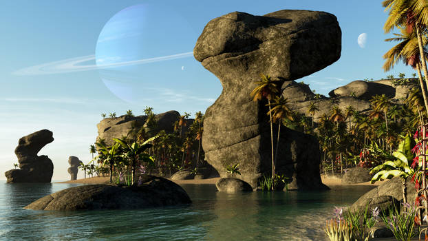 The Bay of Monoliths