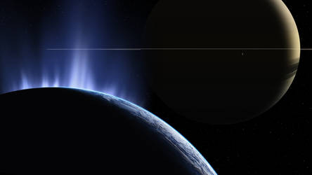 The Spires of Enceladus by uxmal750ad