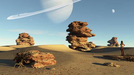 The Desert Sentinels (Blue Sky)