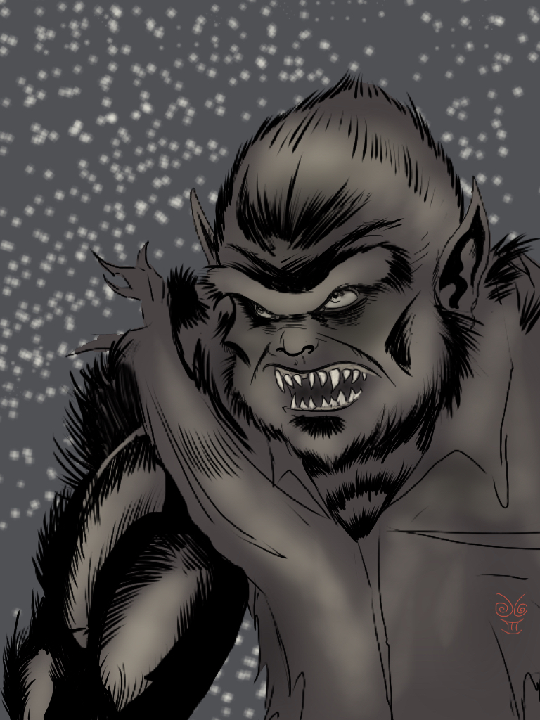 Werewolf by JimGal77