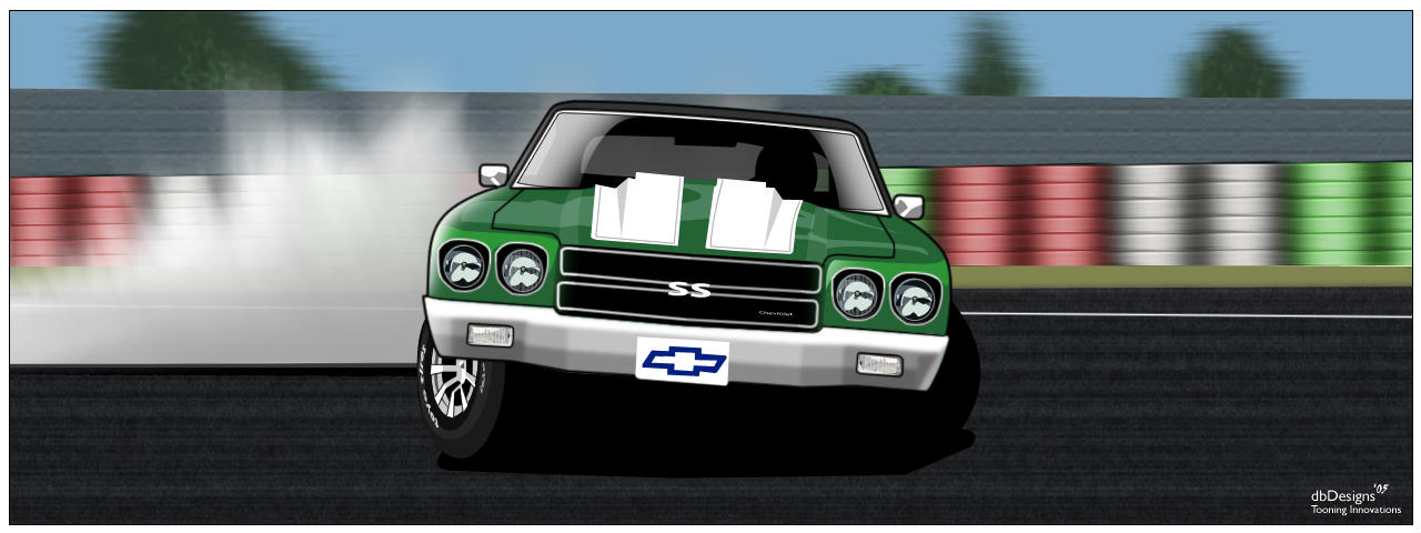 Drifting Chevy SS by donbenni