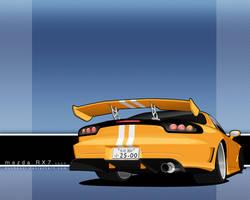 Auto Modellista RX7 by donbenni