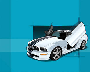 Ford Mustang GT by donbenni