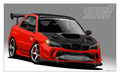 Custom Subaru Impreza
