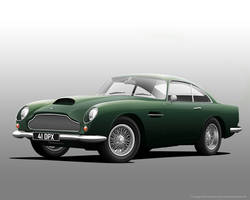 Aston Martin DB4 GT by donbenni