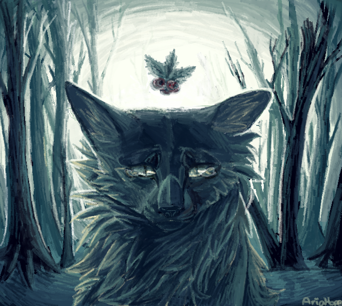 Hollyleaf [MS Paint] by Aria-Hope