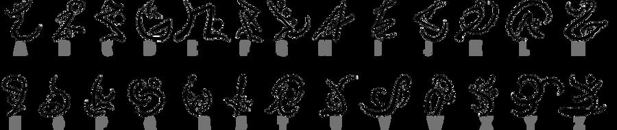 ::ViS - Alphabet by DarciCandeh