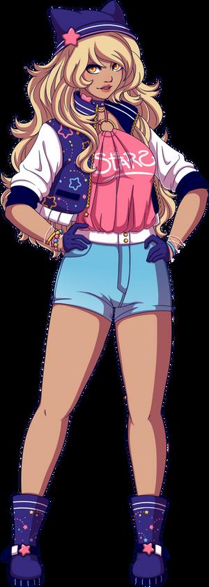 ::TDW - Celeste Star Banner Outfit
