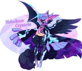 ::Scarfox Charity Custom - Nebulous Crystals