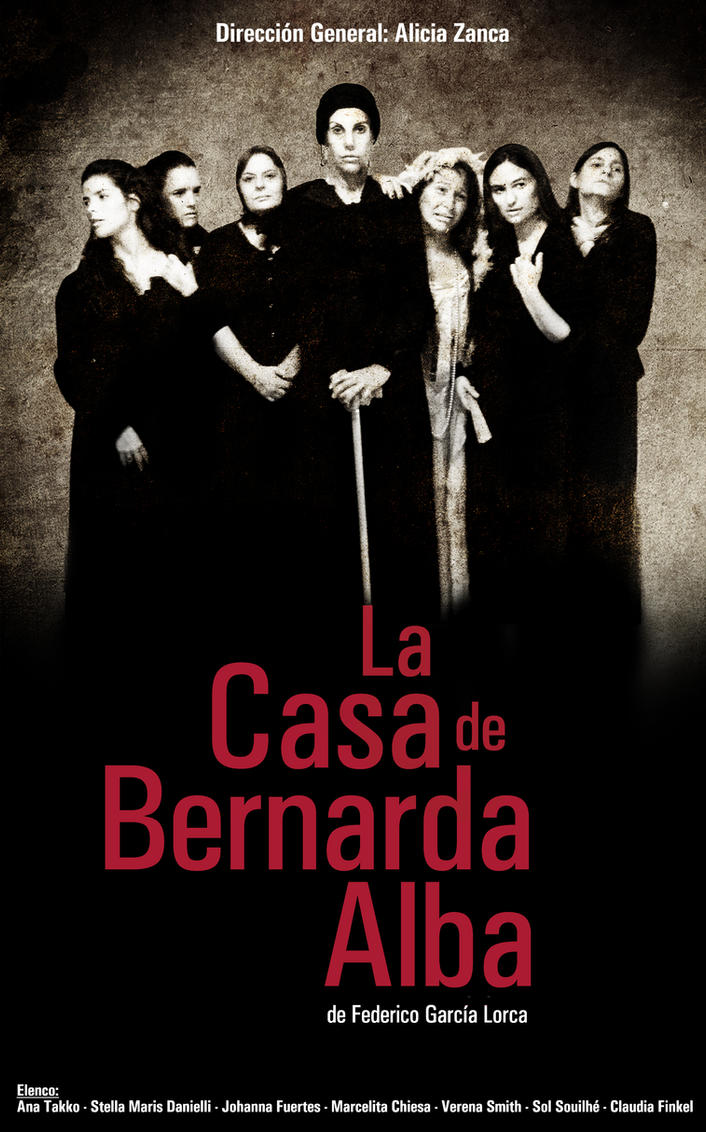 La casa de Bernarda Alba by Nowie on DeviantArt