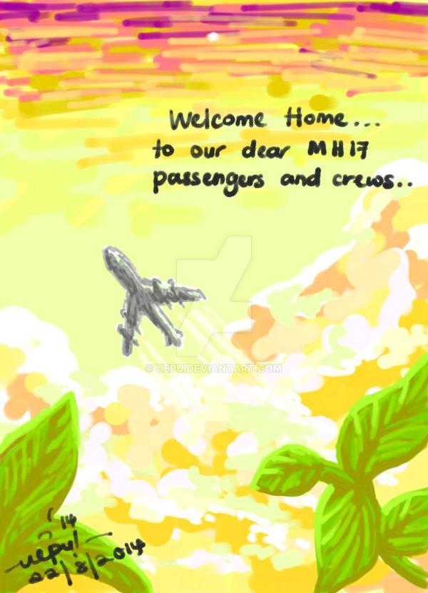 MH17 : Welcome Home by uepu