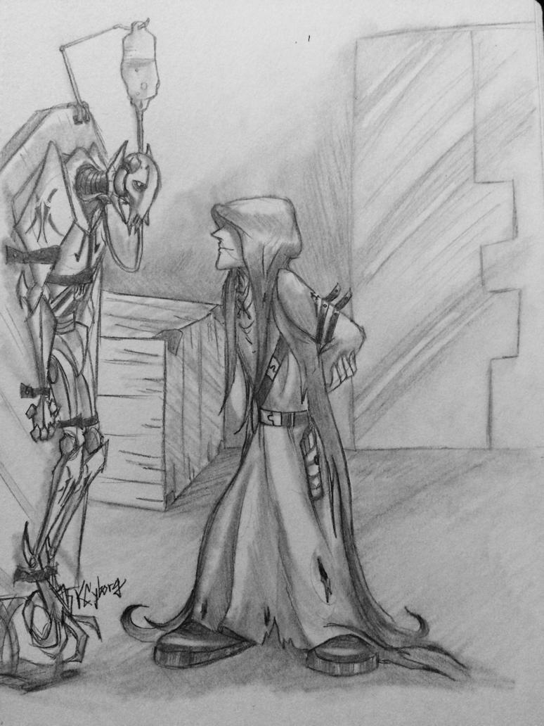 Artist - More randomness, two new sketches as of 7/4... | Jedi ...