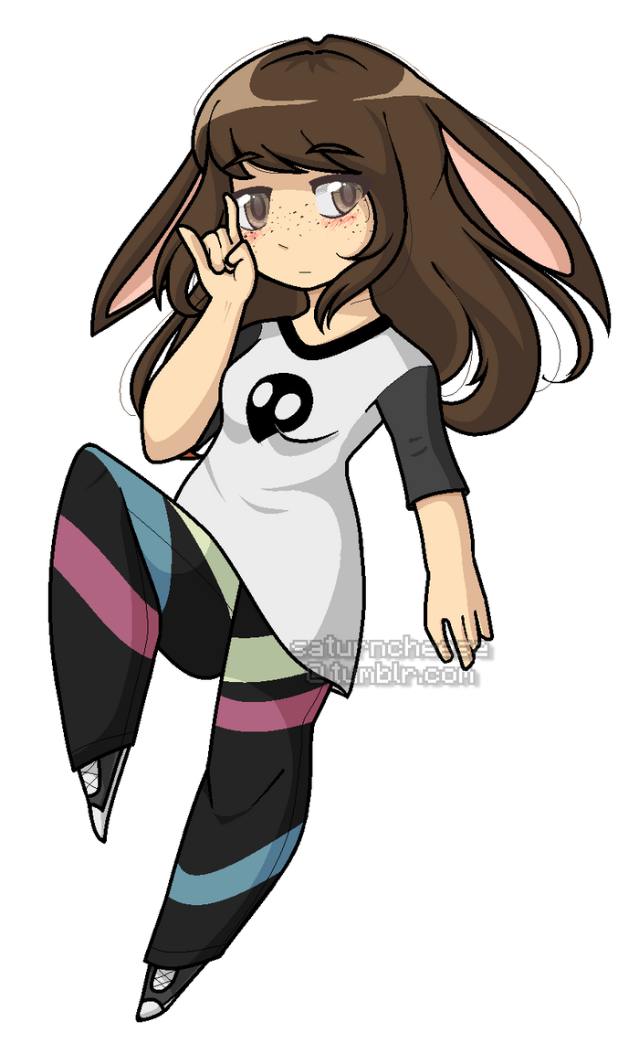 a beautiful bun by SaturnCheese on DeviantArt