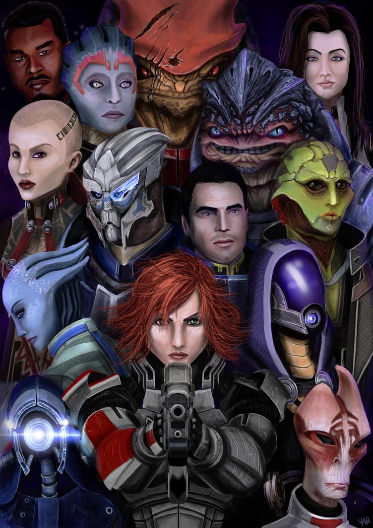Mass Effect by yamadeus
