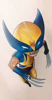 Chibi Wolverine For -ATOM-