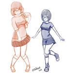 Velma and Tina