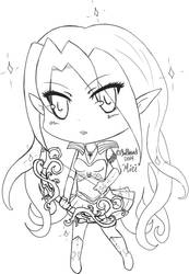 Miri Chibi by ChellizardDraws