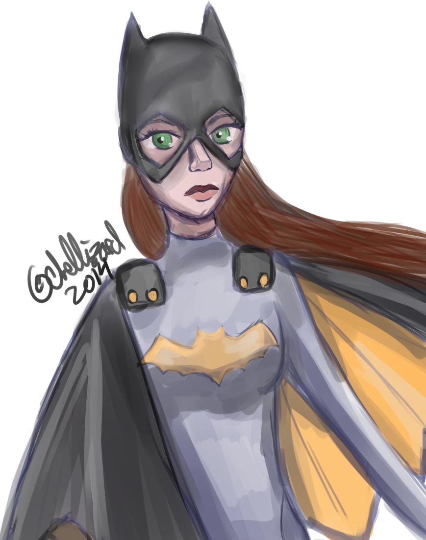 Batgirl by loserfacerochelle