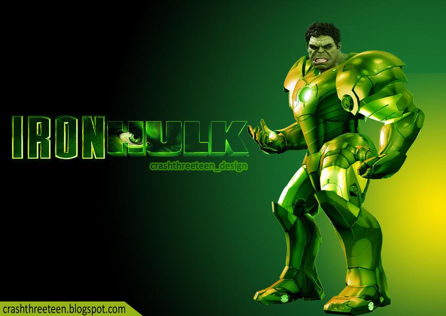 IRON HULK by prabumaha13Iron Hulk