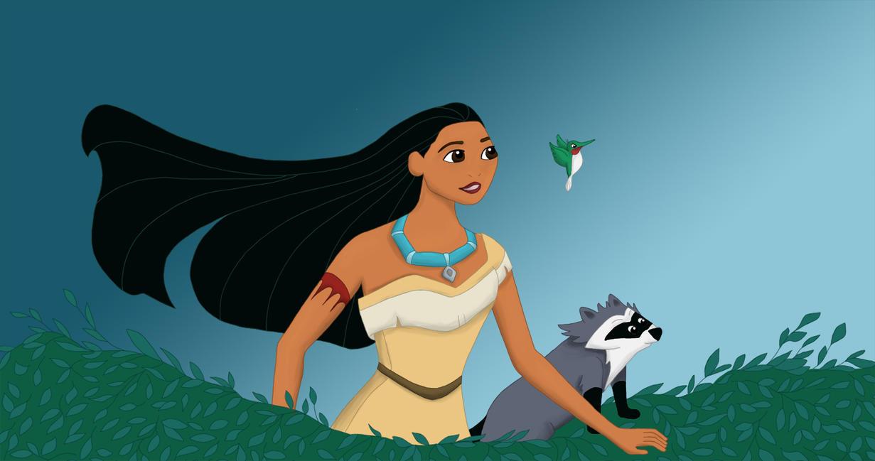 Pocahontas by sphhia