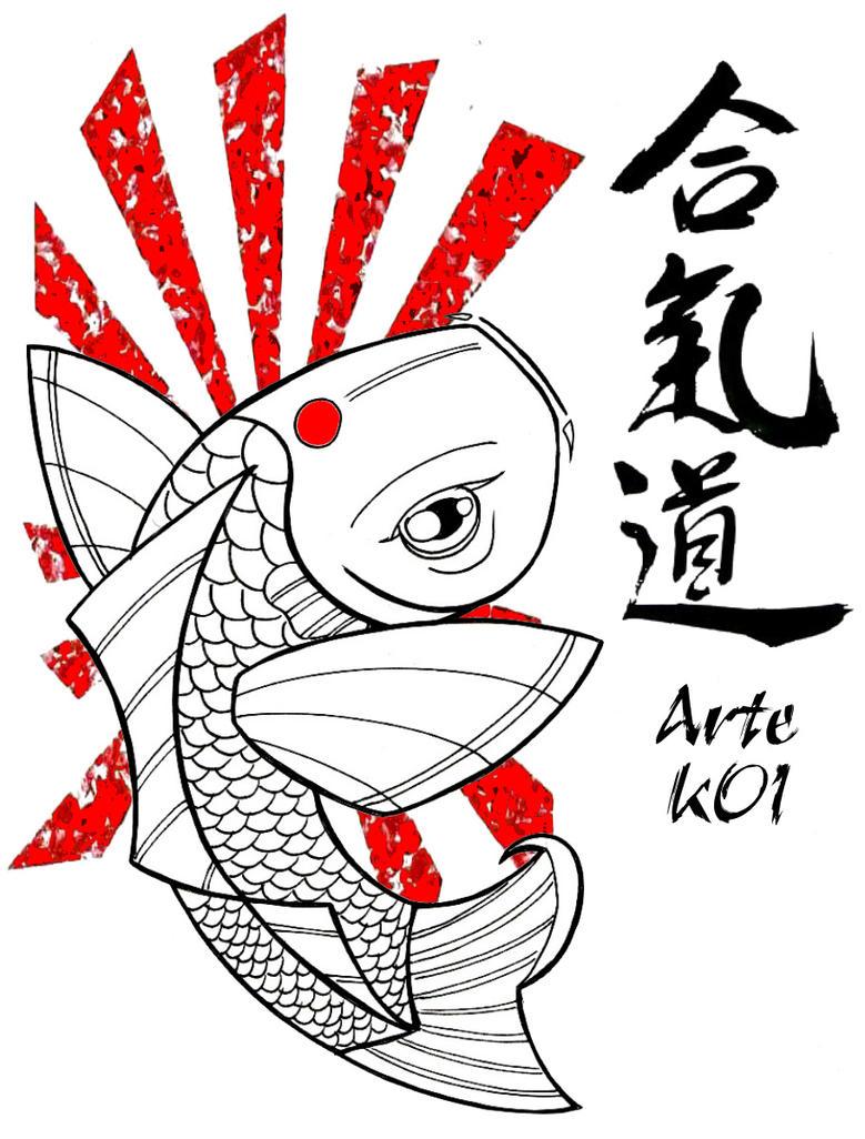 Red koi fish 2 by artekoi on deviantart for Red koi fish