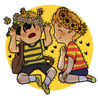 Bee And Flower Boy by smol-link