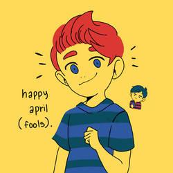happy april FOOLS  by smol-link