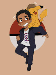 detective pikachu!!! by smol-link