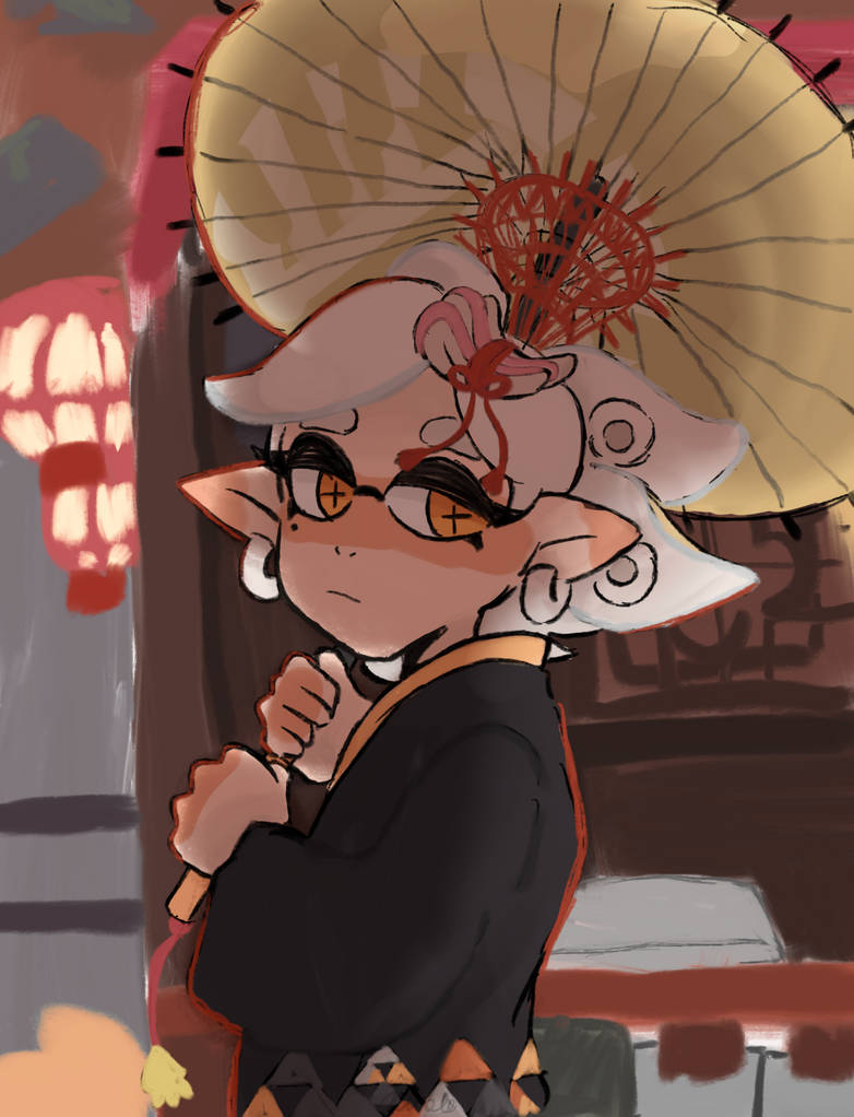 kimono marie :3c by smol-link