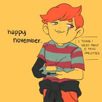 happy november ft. clos
