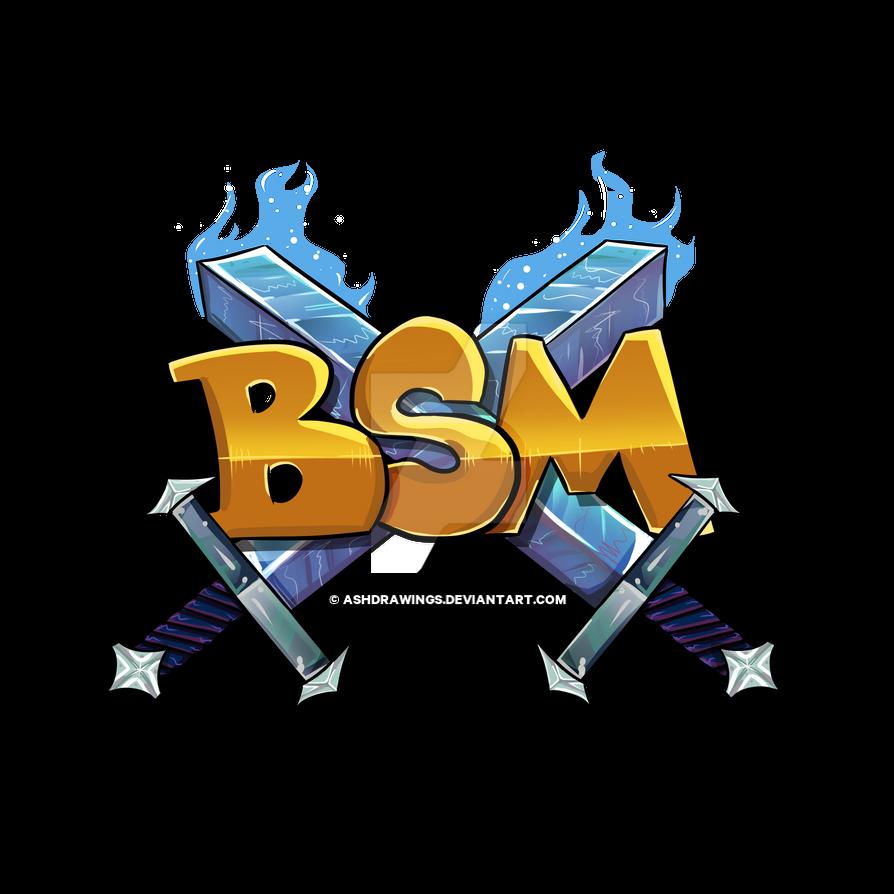 Bsm minecraft server logo by ashdrawings on deviantart - Pokemon logo minecraft ...