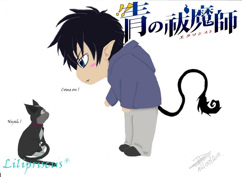 Kuro versus rin by lilipriscus on deviantart - Combien de temps un chat peut disparaitre ...