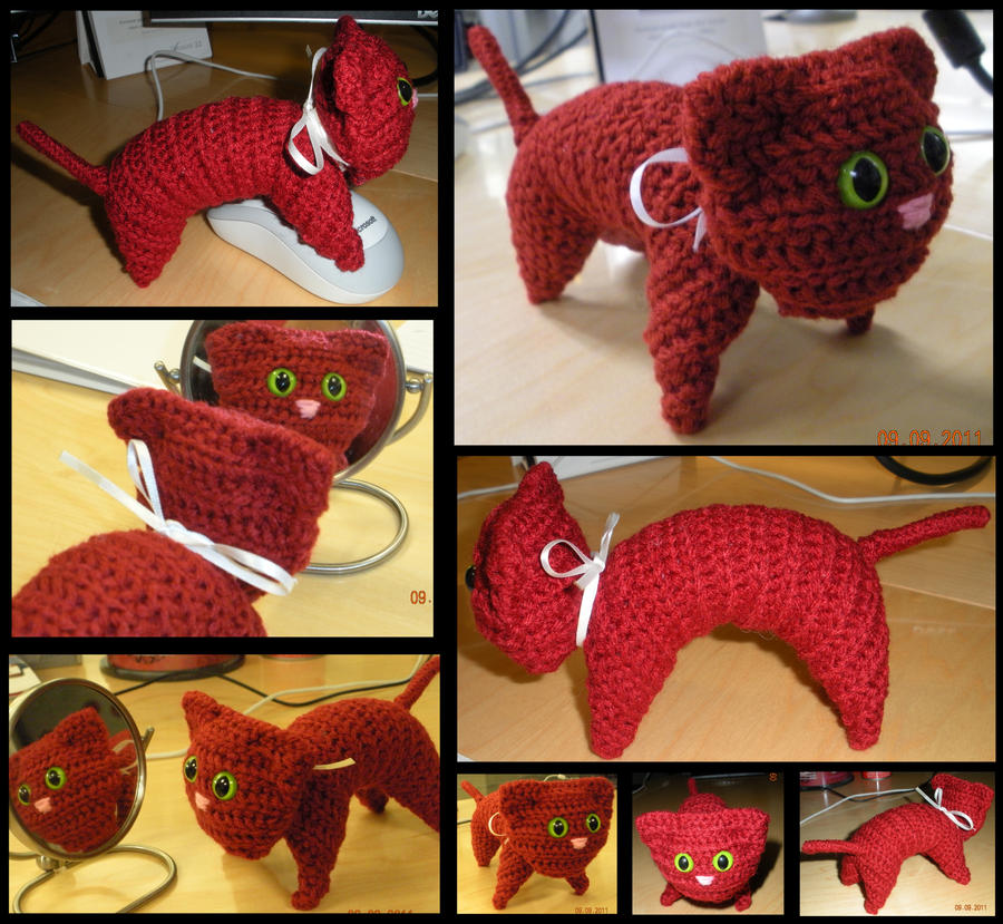 ruby cat by 3greendogs