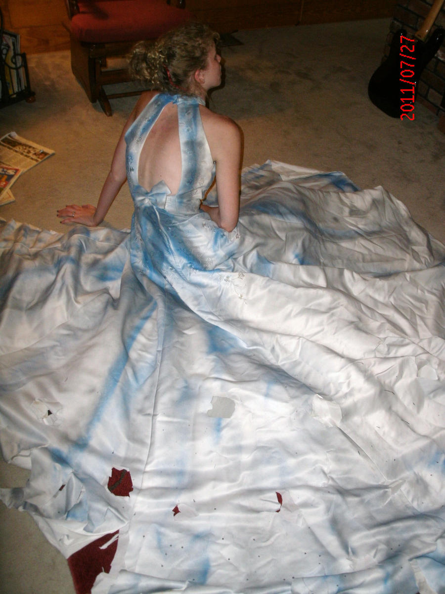 corpse bride dress by ajacqmain on DeviantArt