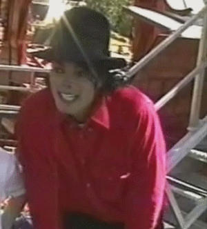 MJ cuteness GIF. by ajacqmain