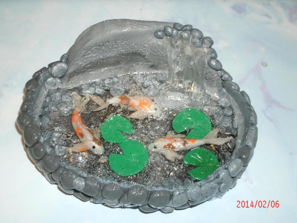 Koi fish pond by ajacqmain on deviantart for Koi fish pond size