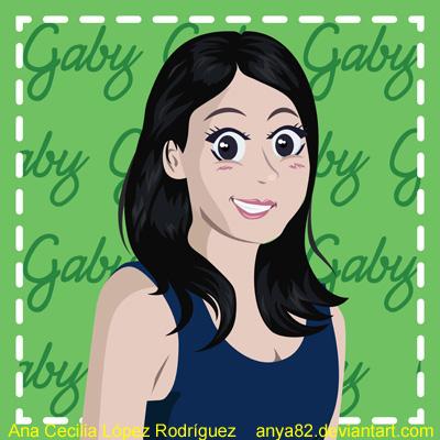 People: Gaby by Anya82
