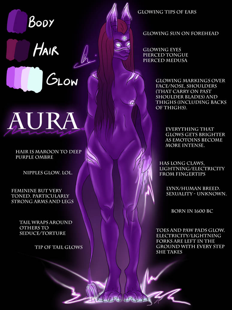 Aura Reference Sheet by xowendylee