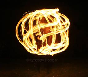 Ball of Fire Hoop!