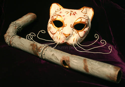 Splicer Mask and Lead Pipe