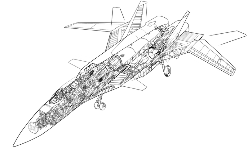 Gallery For gt Fighter Jet Drawing