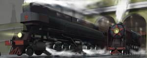 Soviet steam by koori101