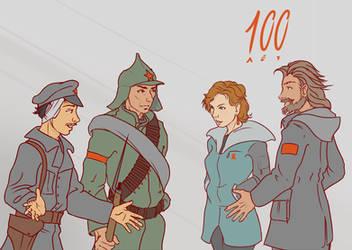 100 years by koori101