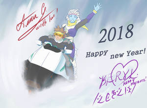 Happy new 2018!