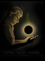 Stephen  Hawking by koori101