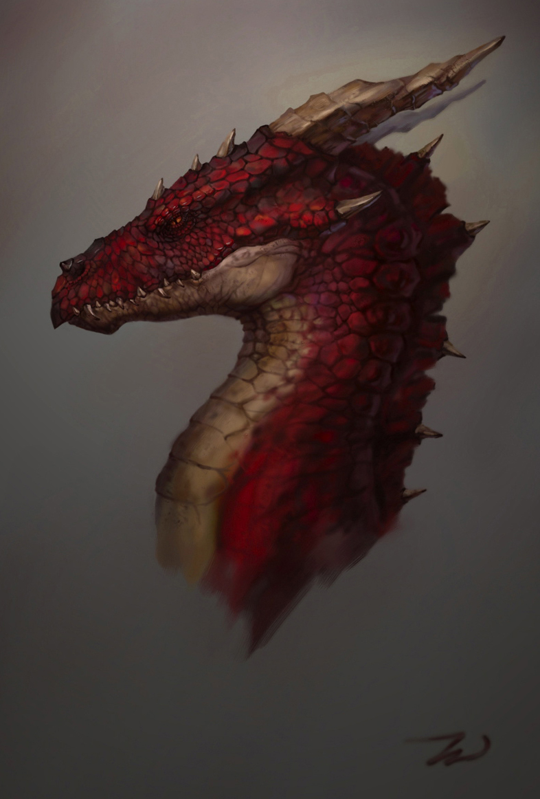 how to draw smaug the dragon easy