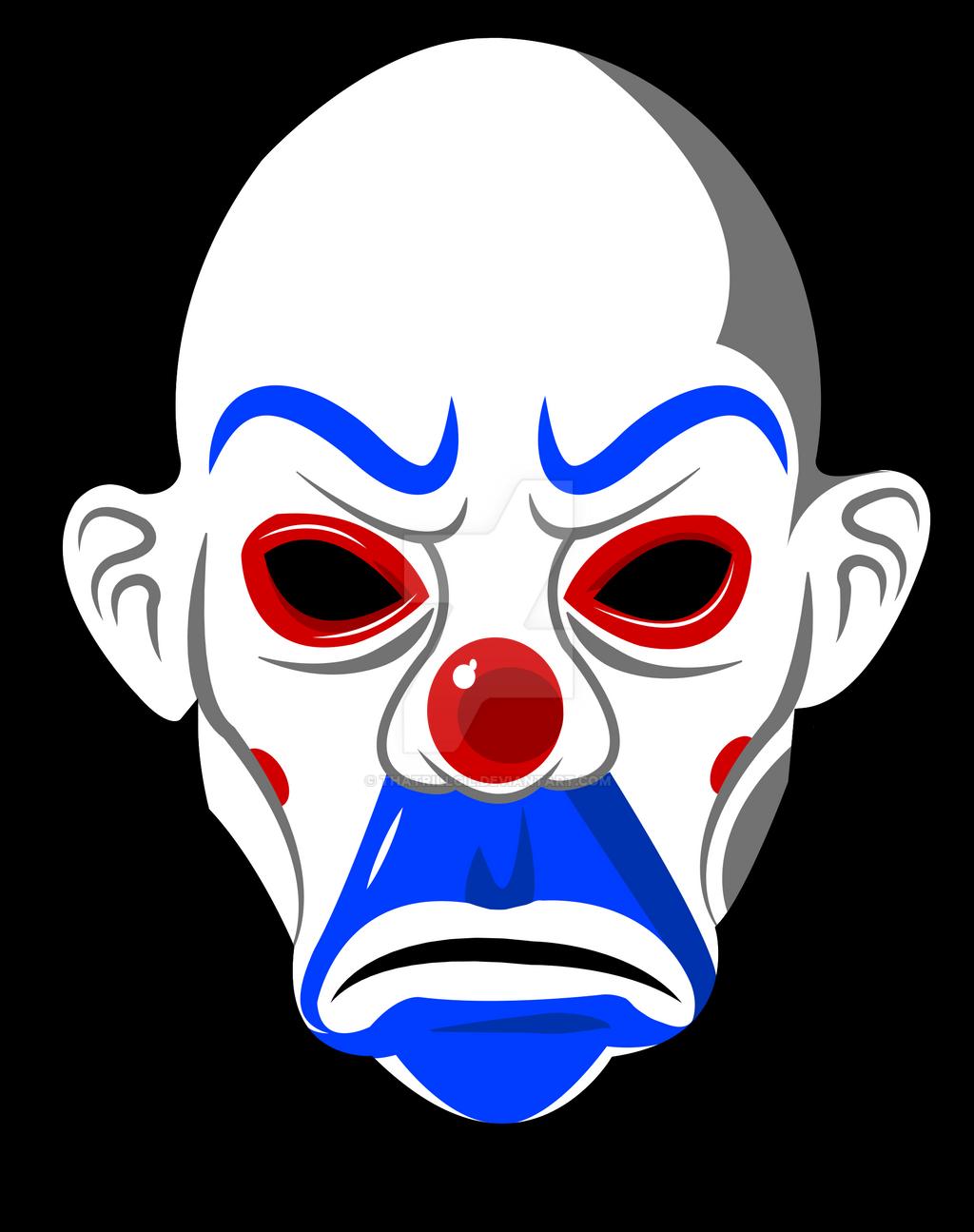 Как рисовать маску джокер