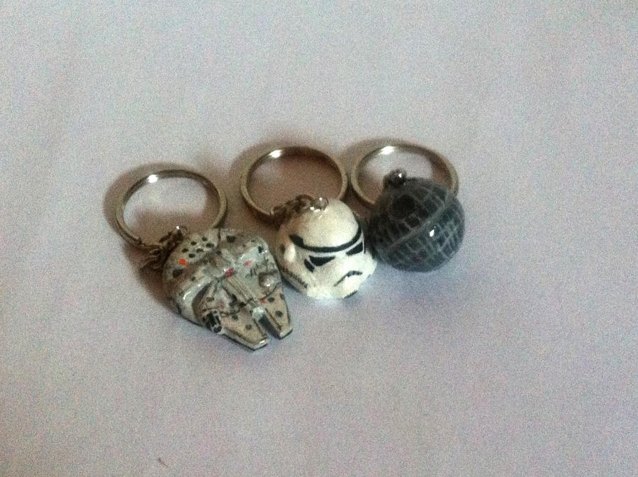 Star Wars keychains by SkyWookiee
